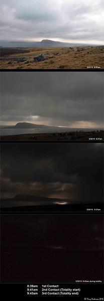 Total Solar Eclipse Faroe Islands 3/20/15