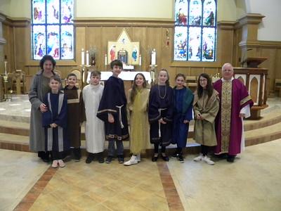 Family Liturgy April 7 2019