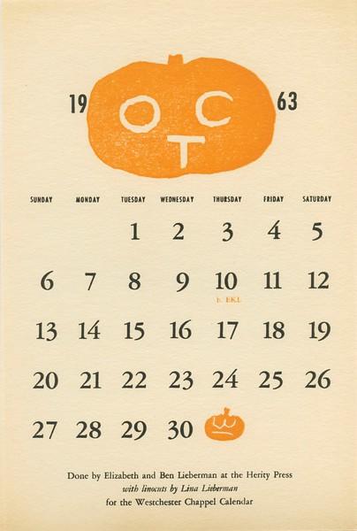 October, 1963, Herity Press