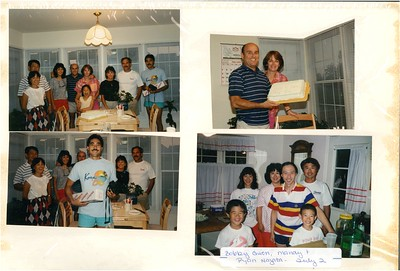 7-1989 Nagata's, Kam, & Judy Kouno Wedding