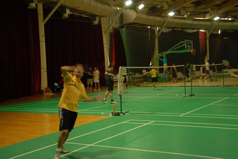 [20100918] Badminton PK with Hou Jiachang (6).JPG