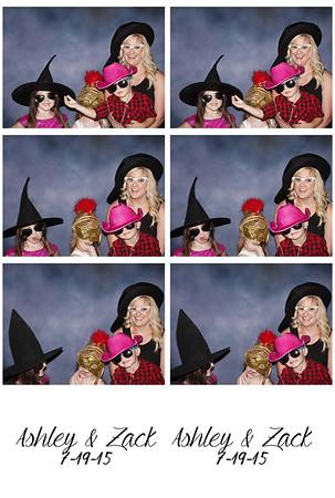 7.19.15  Ashley & Zac Photobooth