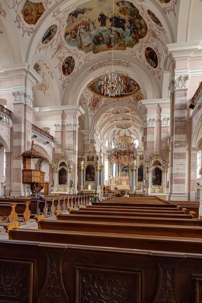 Ebersmunster Abbey Church Nave