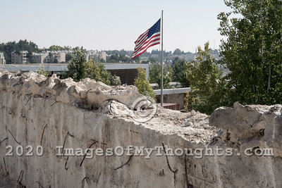 20190906 US Embassy Builds Controversial Fence in Jerusalem