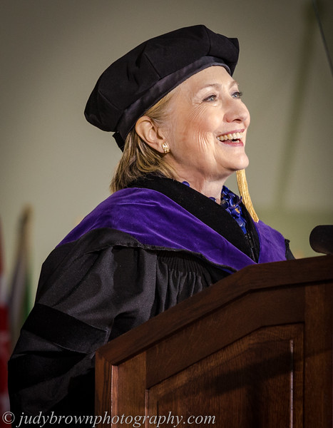 Hillary - Wellesley Commencement 2017