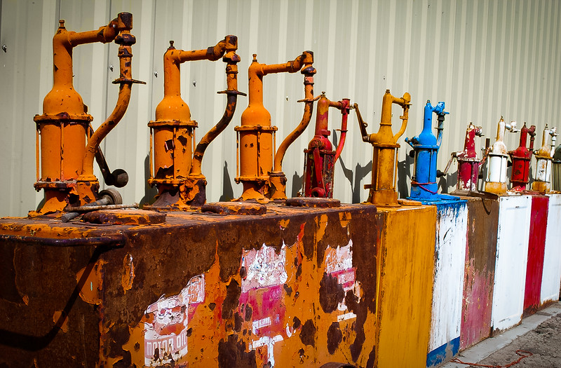 Oil pumps, Yakima County, Washington, 2003
