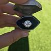 2.63ct Old European Cut Diamond Solitaire, GIA K VS2 46