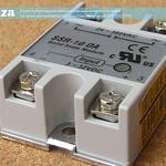 SKU: AE-RELAY/10, 0A Solid State Relay Module, 3-32V DC Input, SSR-10DA