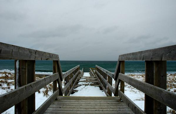 Winter Beach Shots