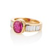 3.21ctw Burma N-Heat Ruby Ring, by Mellerio 1