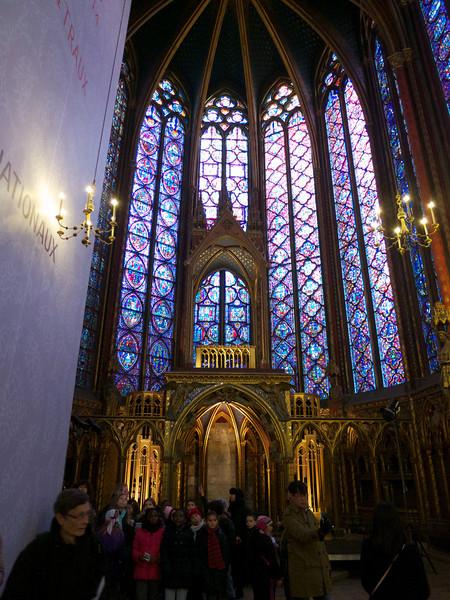 Paris 2013-01-14 St Chapelle and Chatelet