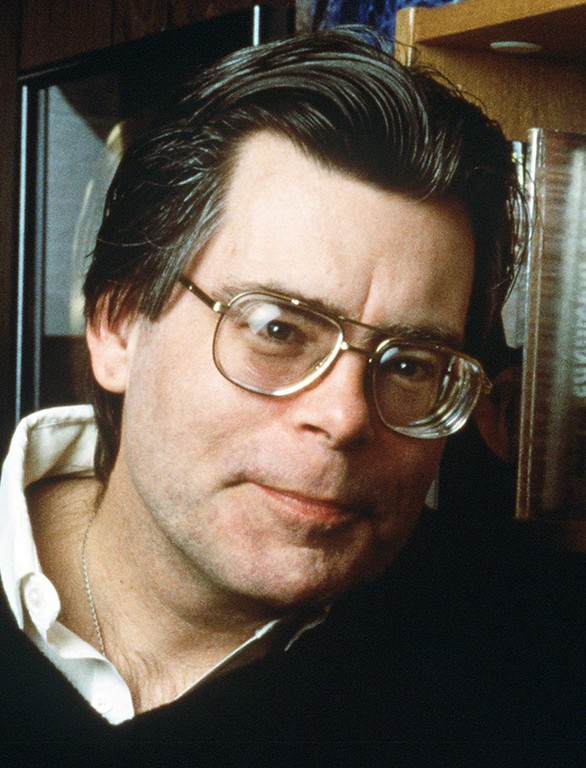 . Author Stephen King is shown in this undated handout photo.  (AP Photo)