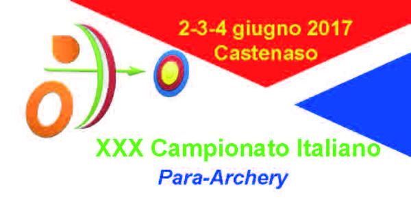 Campionati Italiani Targa Para-Archery - Castenaso 2017