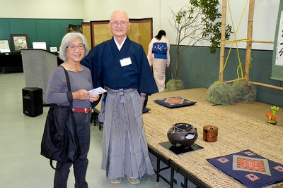 Japanese Brush Painting Art Show at Bolboa Park, 3/21/15