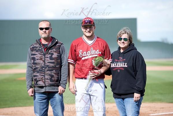 Senior Night~Eagle Baseball 2019