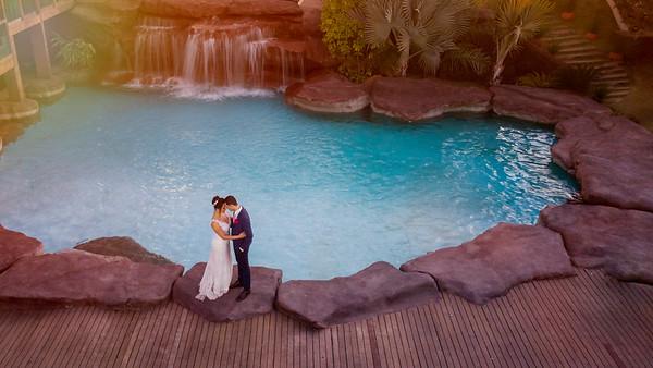 Casamento de Camila e Diego no DGero Eventos