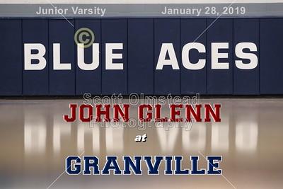 2019 JUNIOR VARSITY  John Glenn at Granville (01-28-19)