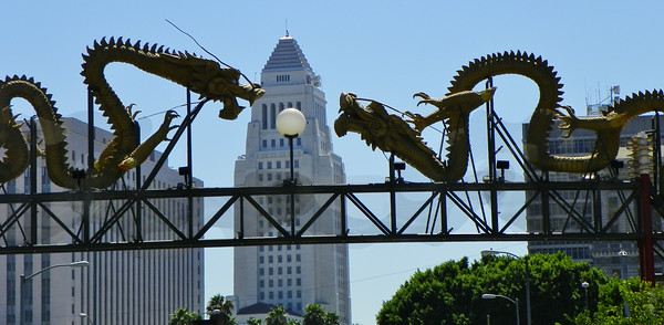 L.A., Chinatown Central Plaza