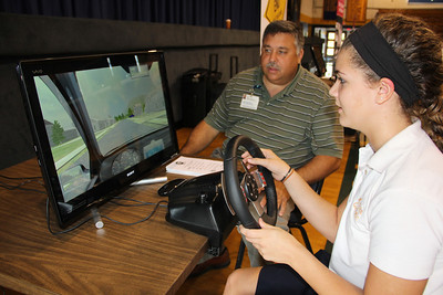Driver Distraction Course, LVHN, Marian High School, Hometown (10-17-2013)