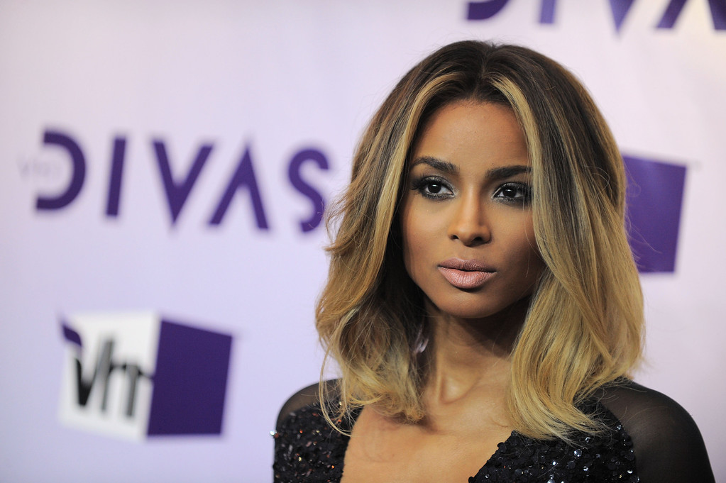 . Ciara arrives at VH1 Divas on Sunday, Dec. 16, 2012, at the Shrine Auditorium in Los Angeles. (Photo by Jordan Strauss/Invision/AP)