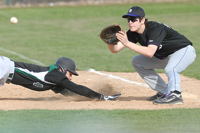 Glenbard West and Downers Grove North baseball