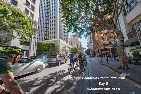 California Dream Ride Day 5 - Woodland Hills to LA