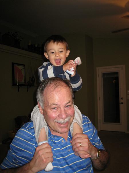 GrandBob playing with Christian