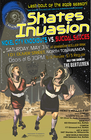 Skates Invasion