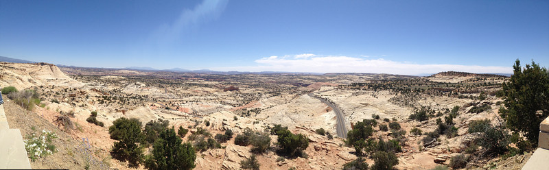 Panorama from Head of the Rocks Overlook