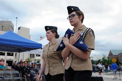 Flag Day Retirement Ceremony 2018
