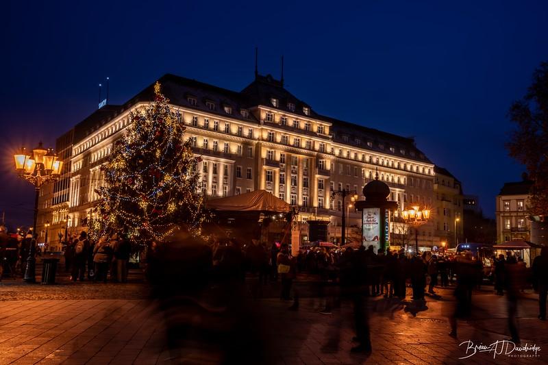 Christmas Crowds in Bratislava