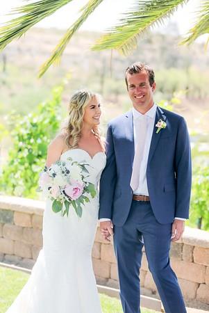 Sean & Jenny ~ Peltzer Winery, Temecula
