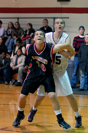 St Sebs BASKETBALL  SELECTED PHOTOS____ TOURNAMENT GAME V MASTER'S  12.27.2007