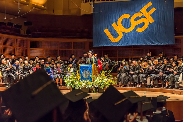 UCSF School of Pharmacy Commencement-May 4, 2018