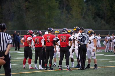 Sept 26 2014: Bellevue vs Sammamish