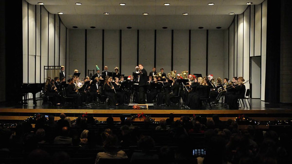 2014-12-04 MHS Band Video