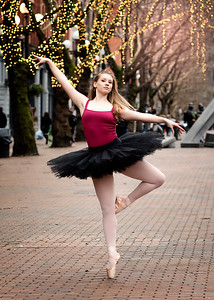 Dancing in Pioneer Square