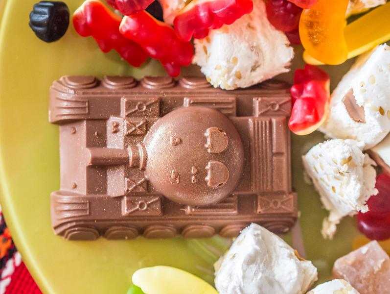 Chocolate tank