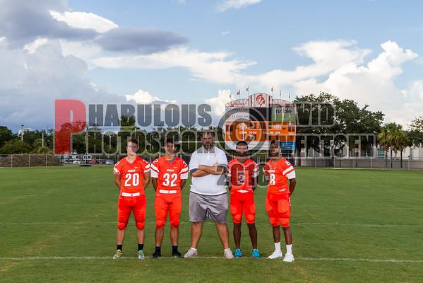 Boone Varsity Football #20 - 2016