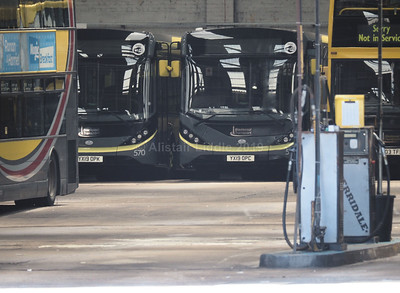 Blackpool Transport new 11.8m Enviro 200's