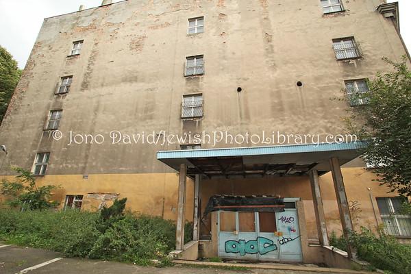 POLAND, Bedzin. Jewish Hospital (former), Podzamcze Street. (9.2011)