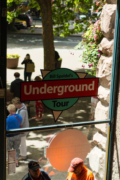 The Seattle Underground tour