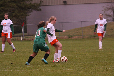 2013 Glenwood Girls Soccer vs Hooper