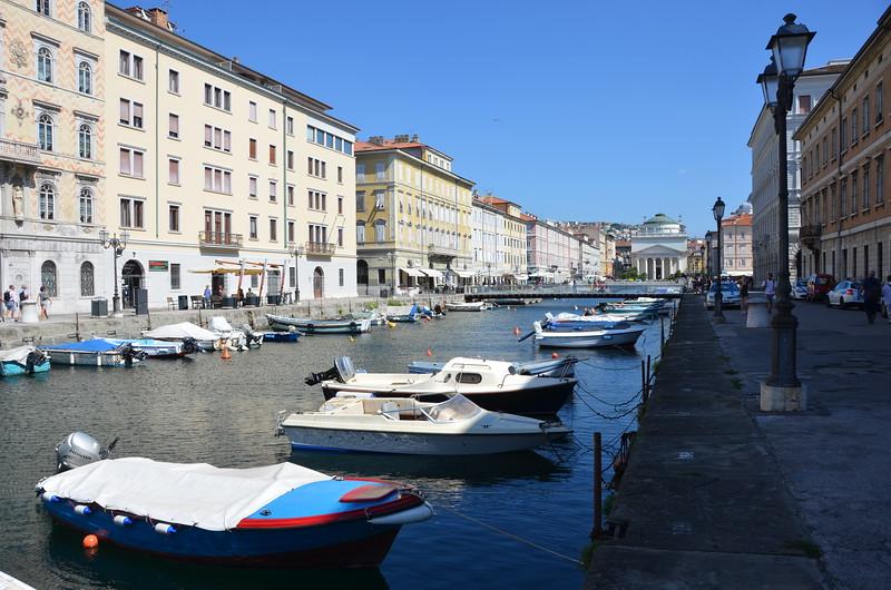 Canale Grande. Trieste