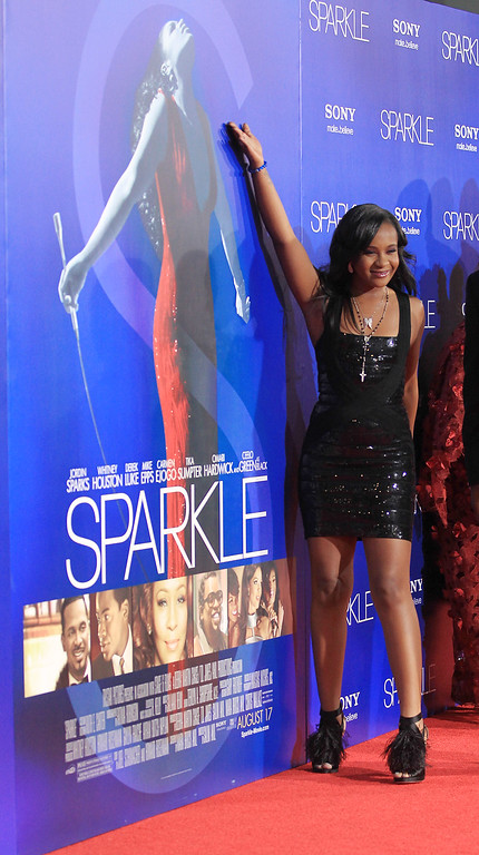 ". Bobbi Kristina Brown attends the Premiere Of Tri-Star Pictures\' ""Sparkle\"" at Grauman\'s Chinese Theatre on August 16, 2012 in Hollywood, California.  (Photo by Frederick M. Brown/Getty Images)"