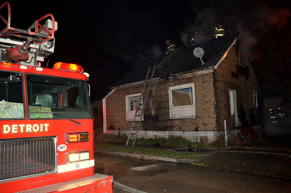 Detroit Box Alarm Addison & Kirkwood 10-27-12