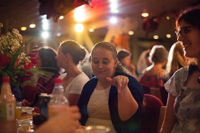 2014-11 Thanksgiving Dinner Stacie