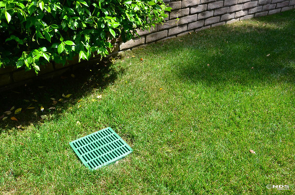 Catch Basin Grates - In Use