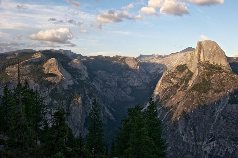 Half Dome and Yosemite Valley, Yosemite National Park, California