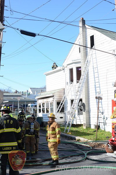 Schuylkill County - Pottsville City - Dwelling Fire - 11/17/2012